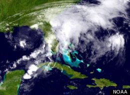Tropical Storm Debby Record
