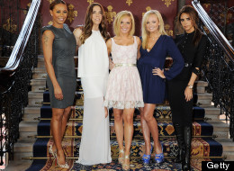 Geri And Mel B Show Everything Is Forgiven At 'Viva Forever' Launch