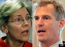 Elizabeth Warren Scott Brown Polls