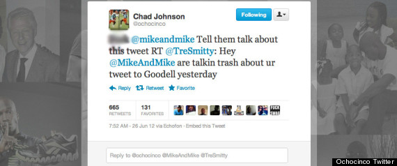 ochocinco tweet