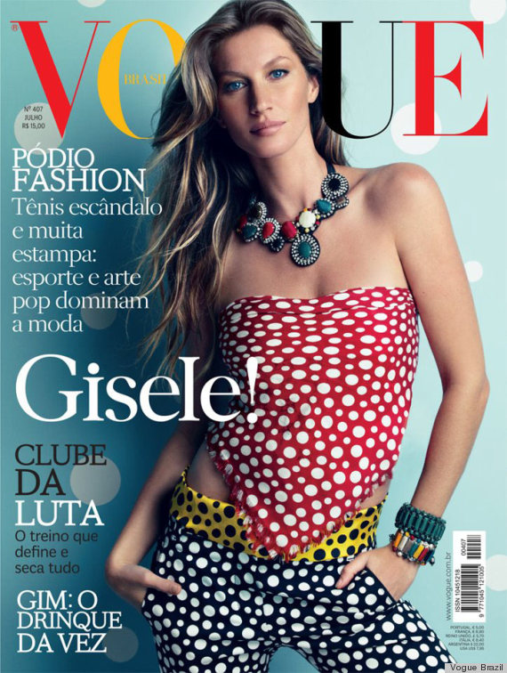 gisele vogue brazil cover
