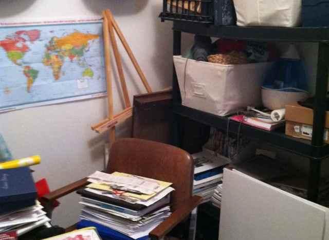 my secret junk room