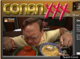 WATCH: Conan Launches Porn Site