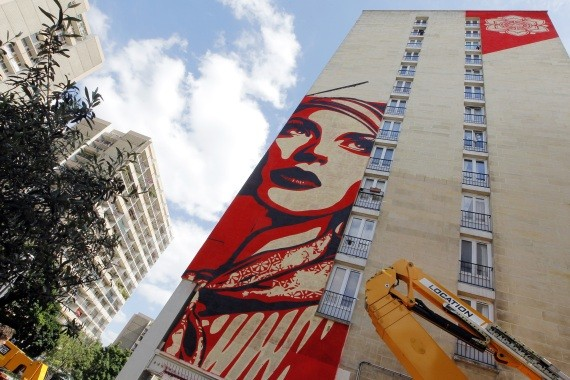 shepard fairey paris