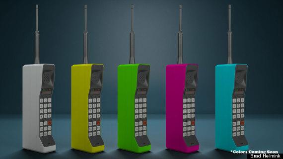 80s brick phones