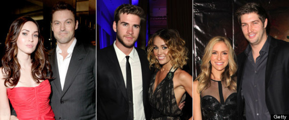 REUNITED CELEBRITY COUPLES