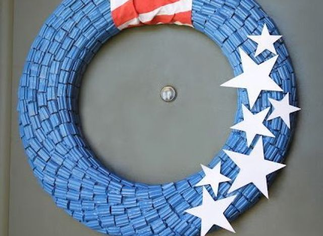 craft of the day candy wreath