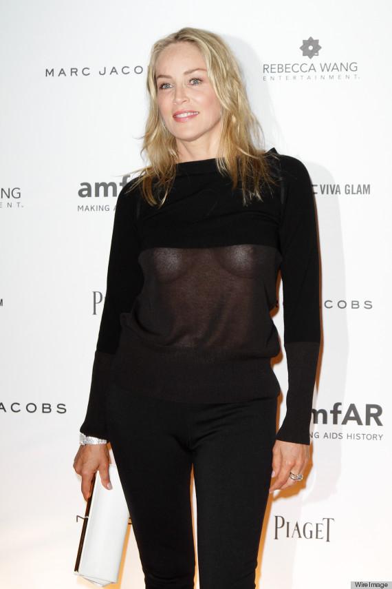 Sharon Stone Nip Slip