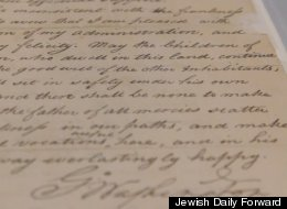 Washington Letter To Jews