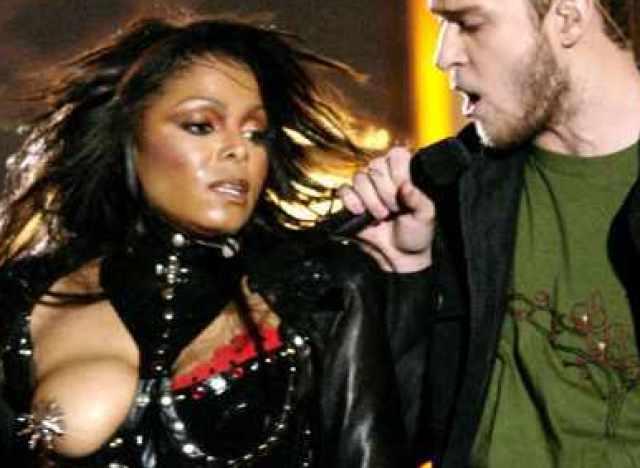 Le sein de Janet Jackson fait scandale Toutelatele