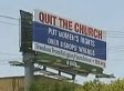Atheist Billboard In Texas Targets Catholics With Phrase 'Put Women's Rights Over Bishops' Wrongs' (VIDEO)