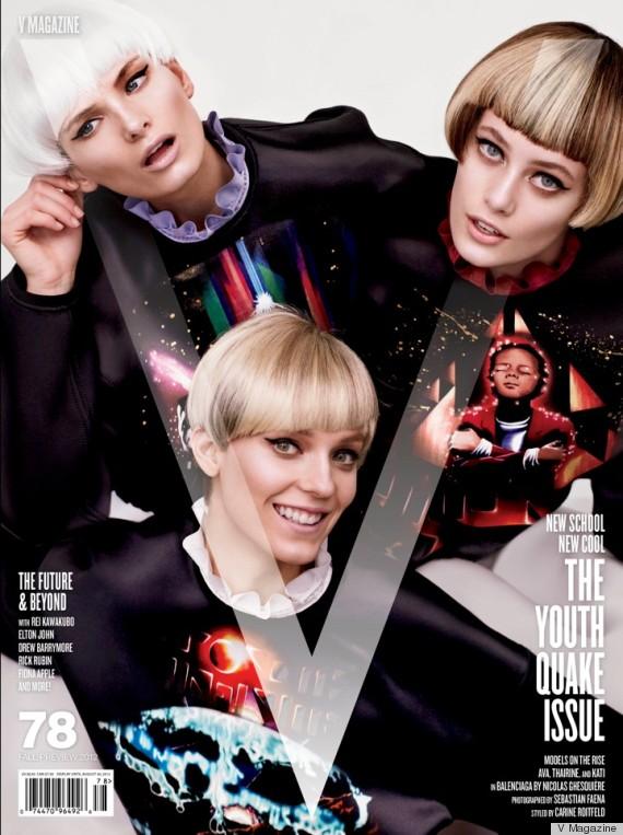 carine roitfeld magazine