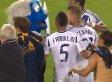 David Beckham Fight: Galaxy Star Kicks Ball At Sam Cronin, Argues With Earthquakes Mascot (VIDEO)