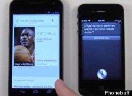 Siri Vs Google Voice