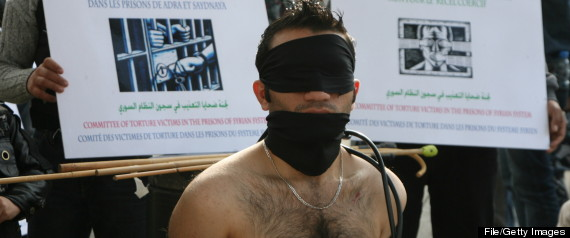 SYRIA TORTURE PROTESTS