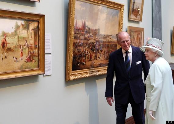 queen gallery visit
