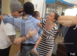 Marc Anthony Casper Smart Hugging