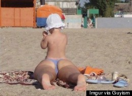 Funny Beach Photo
