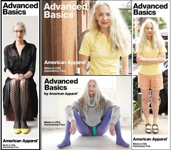 american apparel advanced model