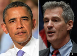 Obama Scott Brown