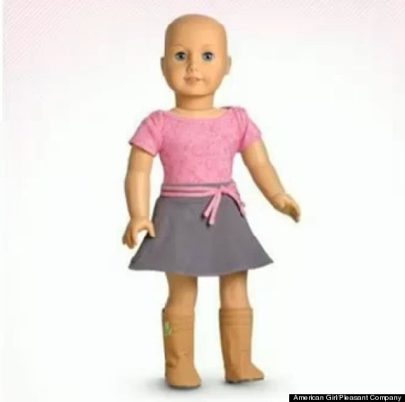 american girl dolls without hair