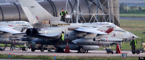 RAF SEARCH TORNADO JET CRASH
