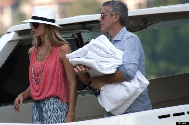 stacy keibler george clooney