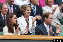 Wills! Kate! Alexander McQueen Dress! Wimbledon!
