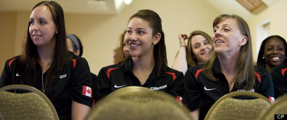 CANADA WOMENS BASKETBALL TEAM