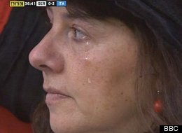 WATCH: Uefa Mislead Audience With Crying German Woman