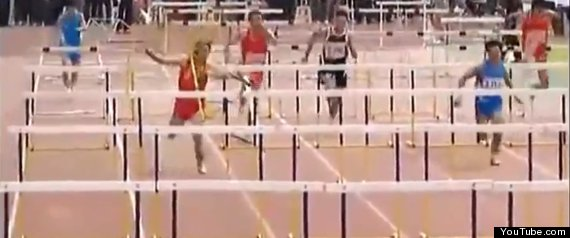Hurdler Fail China