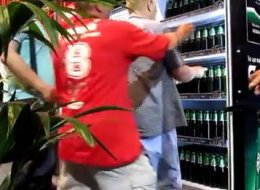 WATCH: Euro 2012 Journalists Empty Beer Fridge In Three Minutes