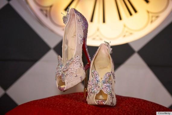 louboutin cinderella shoe