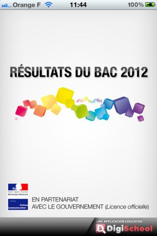 resultats bac 2012