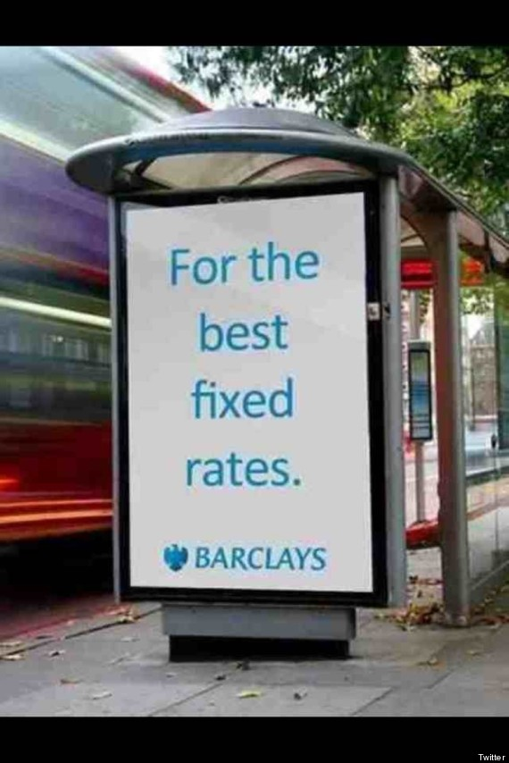 fake barclays ad