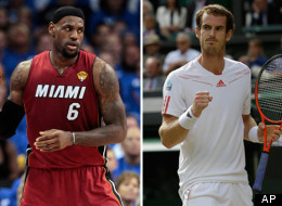 Lebron Andy Murray