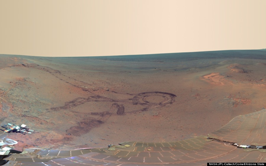 Mars Panorama: NASA Rover Opportunity Snaps Spectacular ...