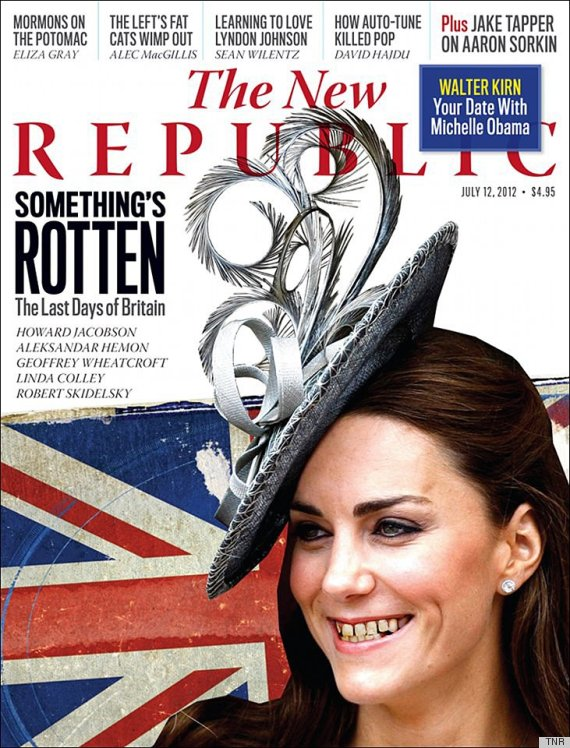 kate middleton new republic cover