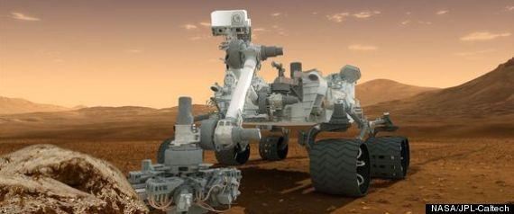 nuclear powered curiosity rover - photo #8