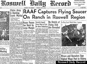 Roswell UFO report