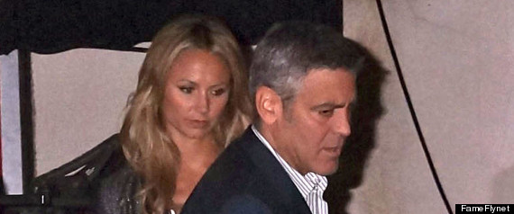 George Clooney Stacy Keibler Food Poisoning