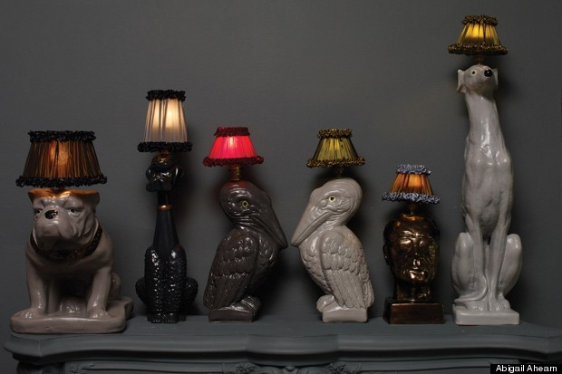 abi dog lamps