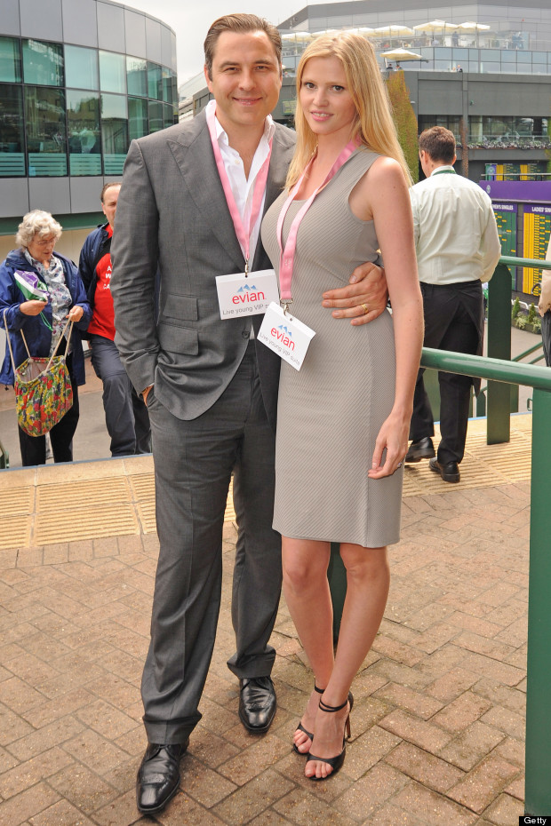 david walliams lara stone wimbledon