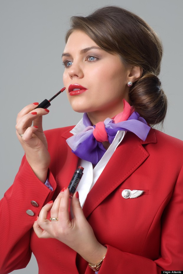 air hostess hair style five top makeup tips from class cabin crew 4112 | m UPPERCLASSRED2 620x930c
