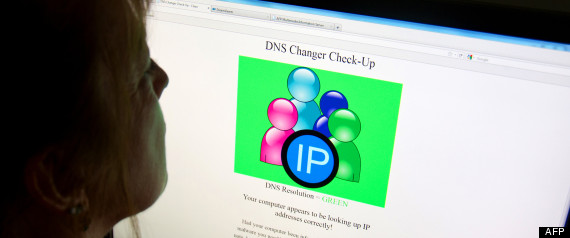DNS CHANGER BUG