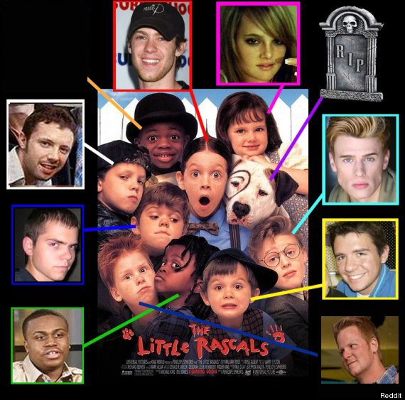 Little rascals cast the he man women hater s club now then photo
