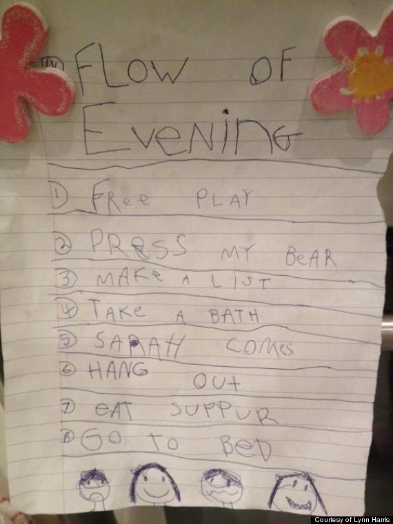 flow of evening note