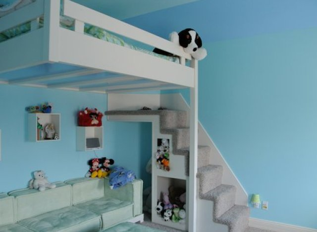 Custom Made Bunk Beds 640 x 468