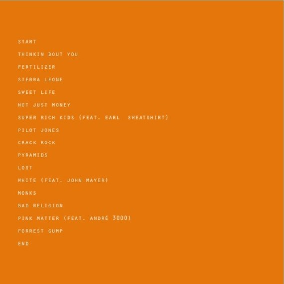 channel orange tracklist