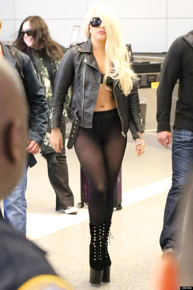 lady gaga lax airport